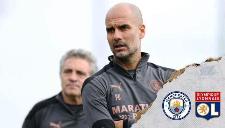 El Manchester City enfrenta mañana al Lyon. /Ilustración Manchester City