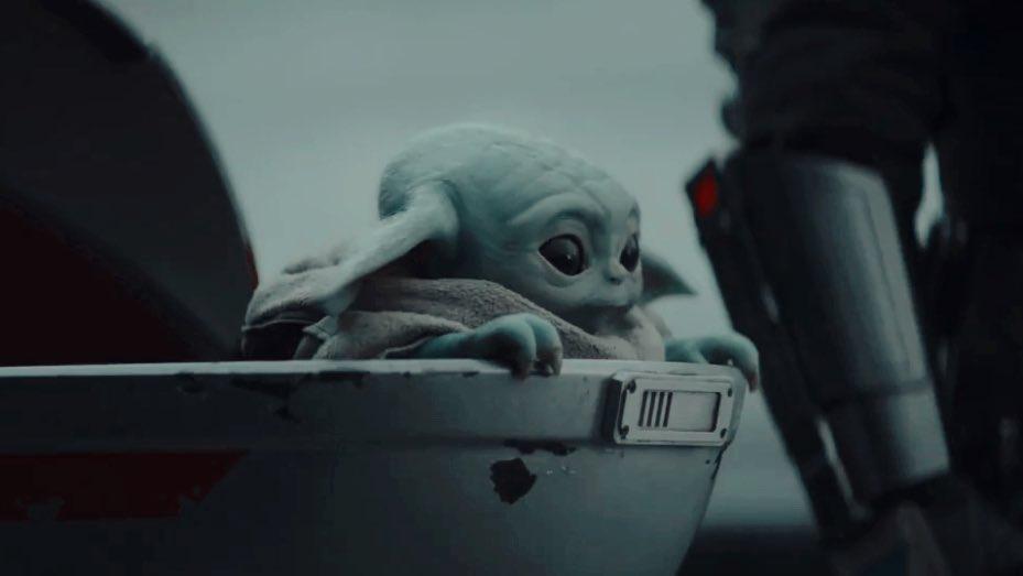 El popular personaje Baby Yoda.