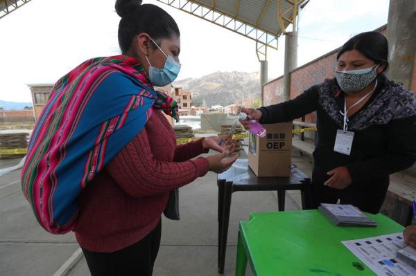 FOTO EFE ELECCIONES BOLIVIA