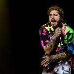 El cantante estadounidense Post Malone. Foto de EFE.