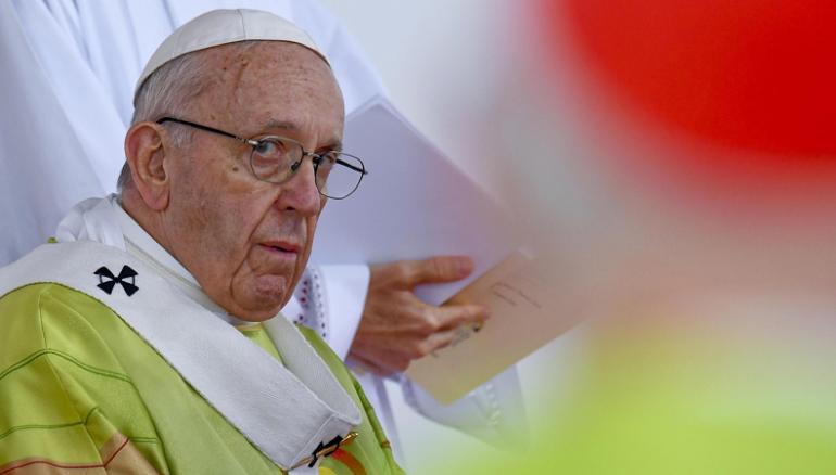El papa Francisco, máximo representante de la Iglesia católica. EFE