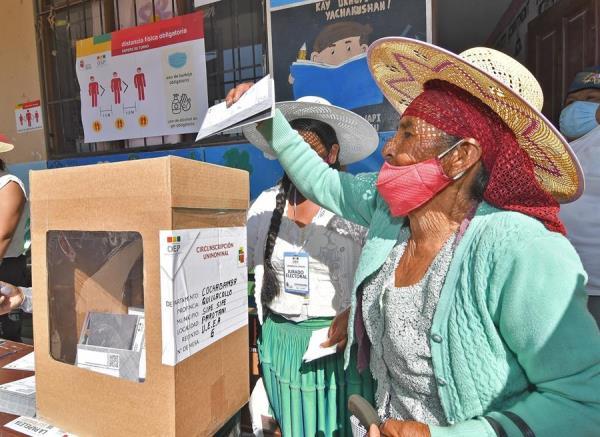 Unos 7,3 millones de bolivianos estaban habilitados para votar este domingo. EFE