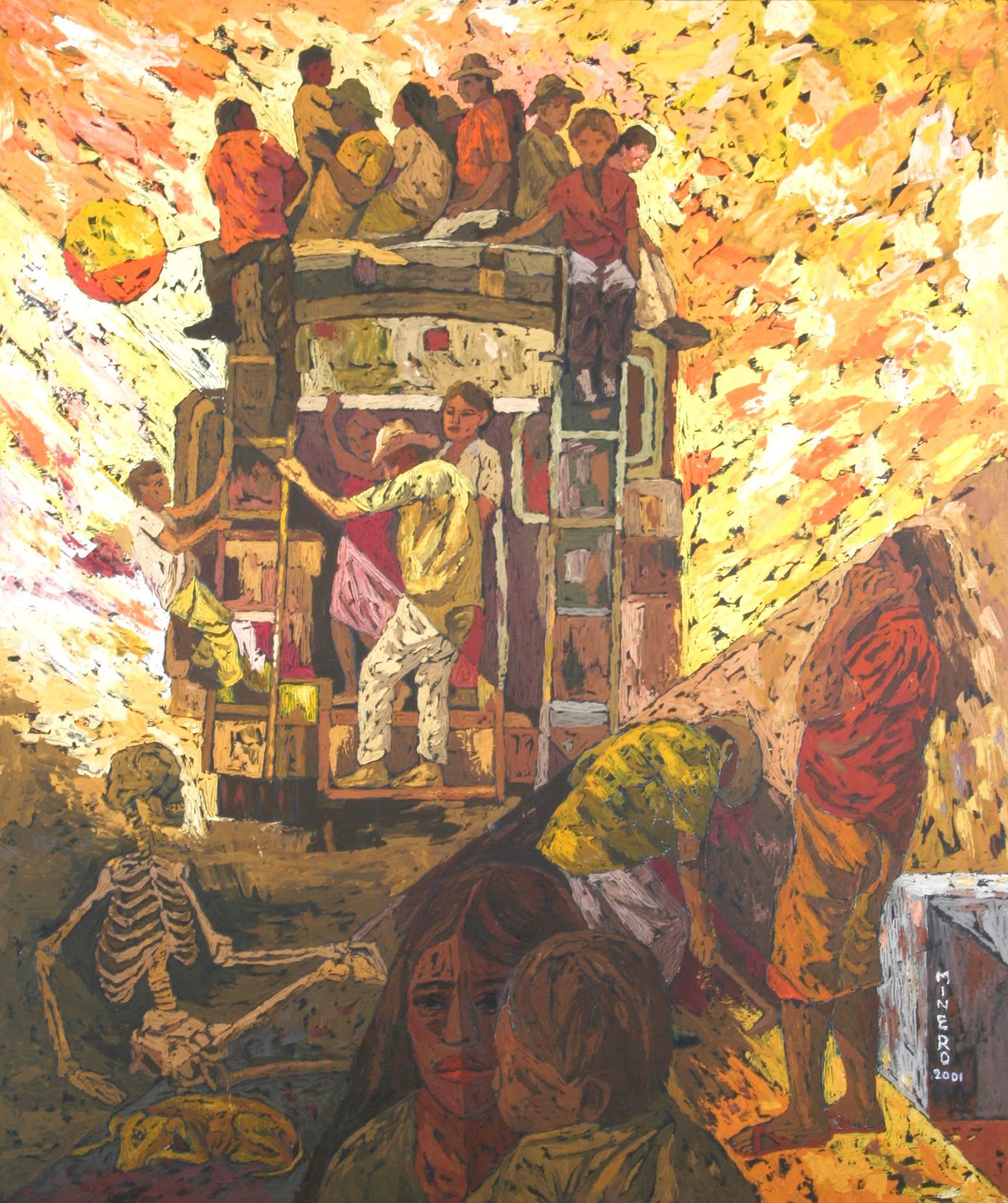 Camilo Minero pintura
