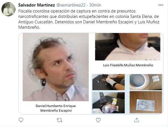 Captura Tuit
