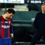 Otro partido de Champions sin Messi. /Foto EFE