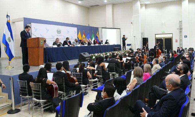 Foto: Asamblea Legislativa de El Salvador.