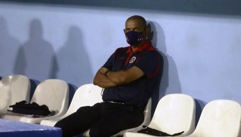 Jorge Rodríguez, técnico de FAS. /Miguel Lemus