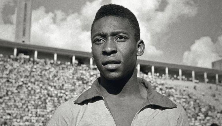 Pelé. /Foto de redes @TyCSports