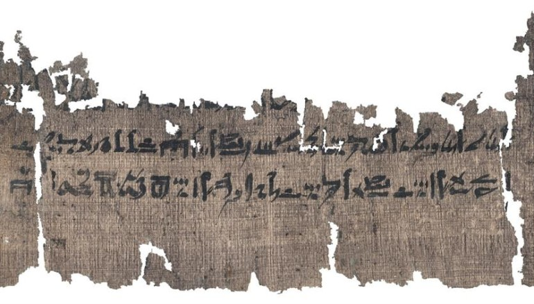 Foto: EFE/The Papyrus Carlsberg Collection, University of Copenhagen