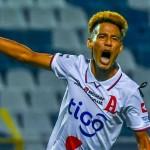 Elvin Alvarado se estrenó con gol. /Foto Alianza FC