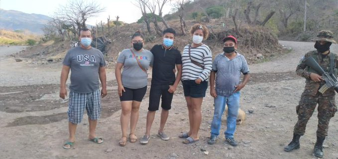 Foto: Fuerza Armada de El Salvador