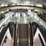Interior de la Biblioteca Nacional de El Salvador. Foto: D1/Miguel Lemus