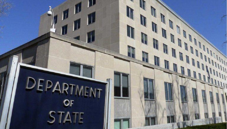 Fachda del Departamento de Estado de Estados Unidos. Foto: Internet.