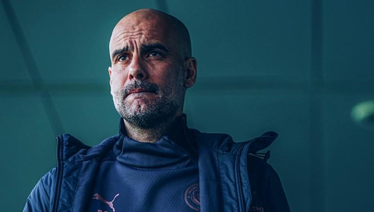 Pep Guardiola. /Manchester City