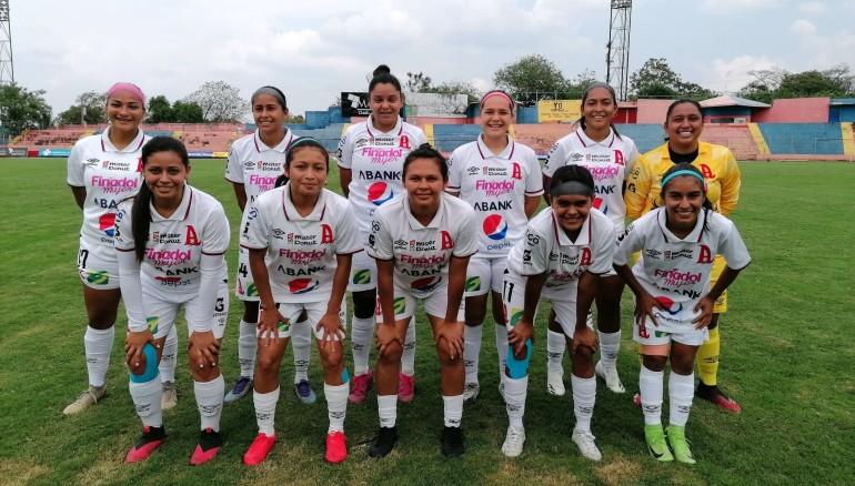 Alianza Women en el estadio Óscar Alberto Quiteño. /Alianza Women