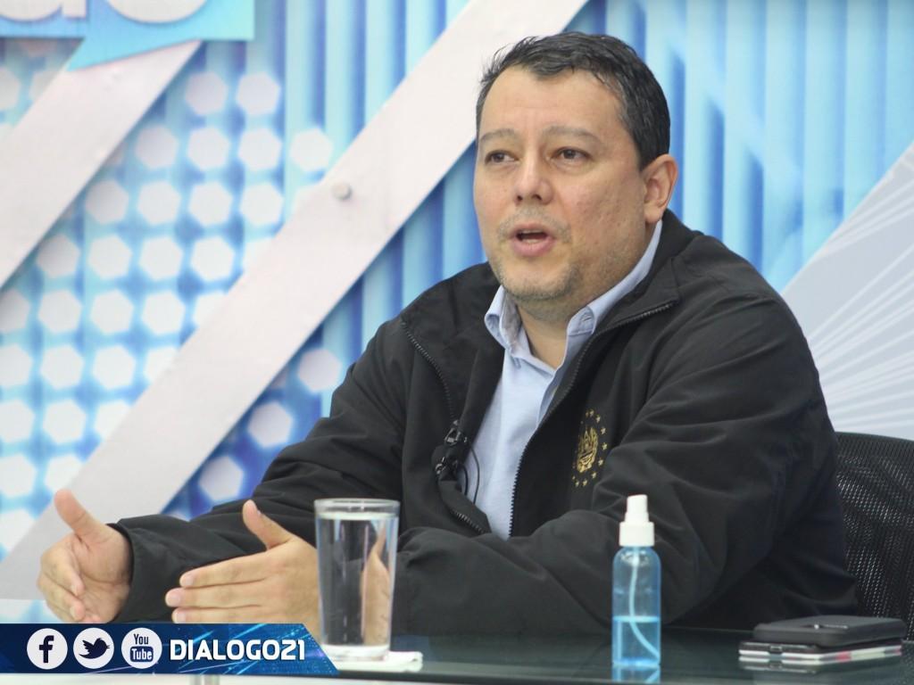 Viceministro de Transporte, Saúl Castelar. Foto: Diálogo con Ernesto López