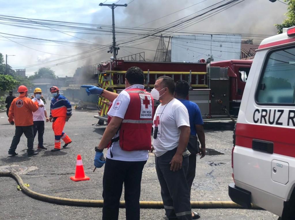 Foto: Cruz Roja Salvadoreña