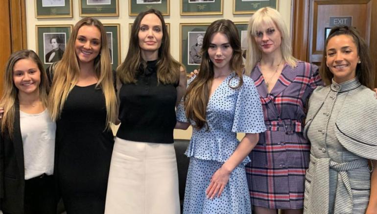 Foto: Tomada del Instagram de Angelina Jolie