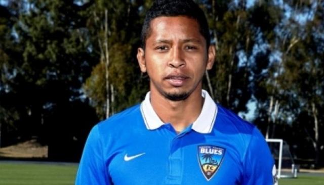 """Christofer """"Colo"""" Ramírez jugó también en la USL de los Estados Unidos. /Foto Orange County Blues"""