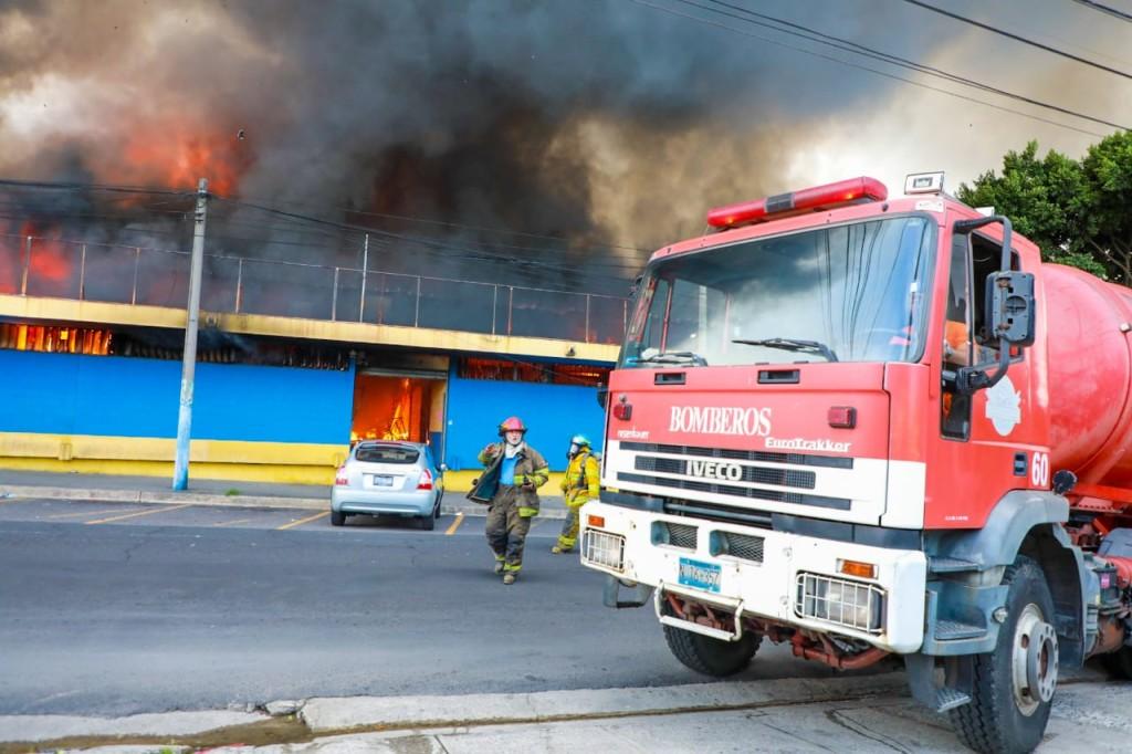 Foto: Cuerpo de Bomberos de El Salvador