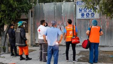 Foto: Cuerpo de Bomberos El Salvador
