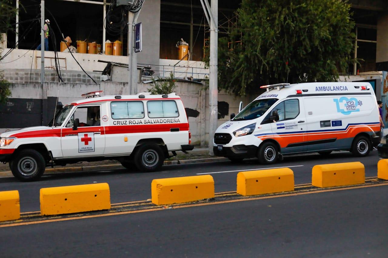 Foto: Cuerpos de Bomberos El Salvador