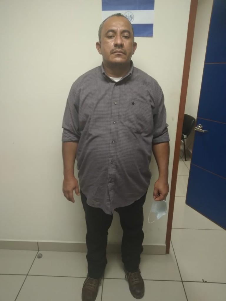 Vicente Adonay Castro, cabecilla 18R en Zacatecoluca. Foto: FGR