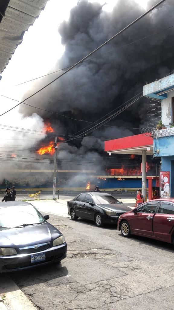 incendio mercado